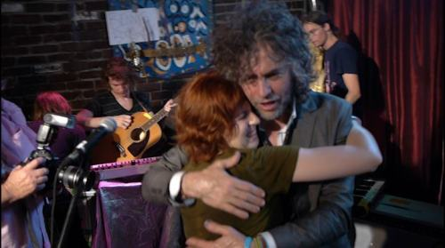 so many feelings.  me and wayne coyne of the flaming lips.