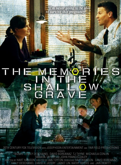 episodes as movie posters | 7x01 The Memories in the Shallow Grave