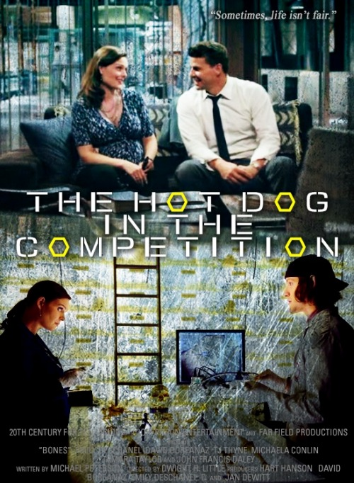 episodes as movie posters | 7x02 The Hot Dog in the Competition