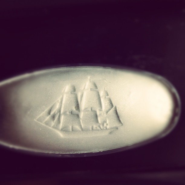 Fancy deodorants have sailboats on them. Duh (Taken with Instagram)