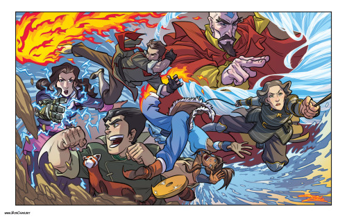 rondanchan:  Legend of Korra fan art complete! Pass it around, Korra fans! #korra