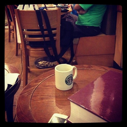 Back in each others arms #starbucks (Taken with Instagram)