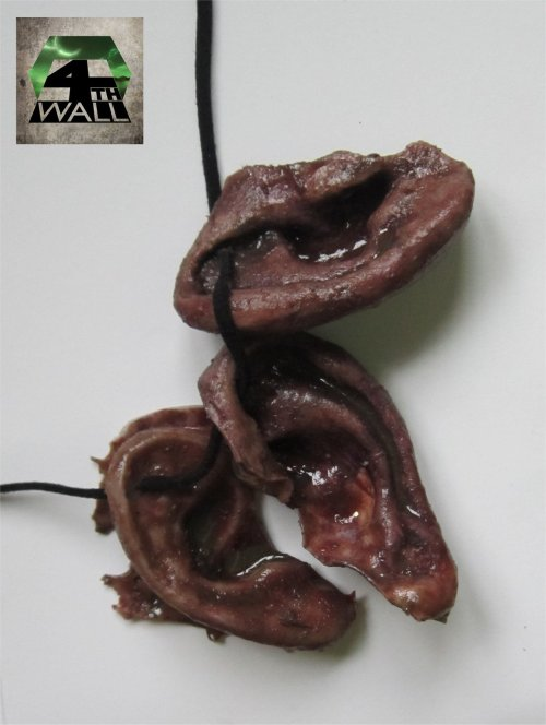 Zombie ear necklace as worn by Daryl Dixon from AMC's 'The Walking Dead'