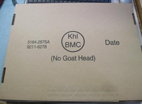 No Goat Head  And that's just one of the many things we won't put in your box if you keep sending us money!