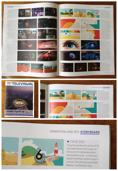 We're featured in this month's Televisual magazine regarding our work on Ten Town! Check out www.tentown.co.uk to see what we've been working on :)