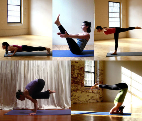 Yoga poses to strengthen your core. from fitsugar