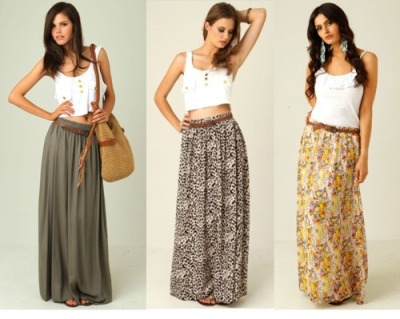oohhh long skirts!