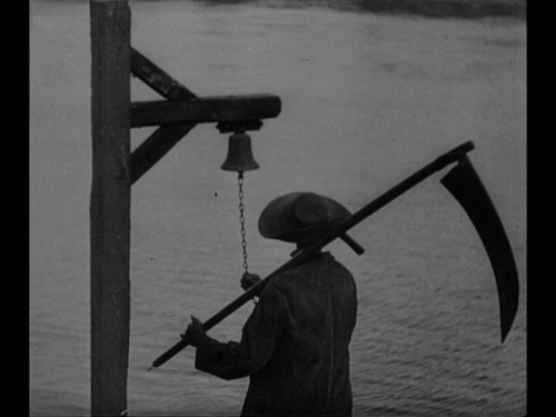 "Still from Carl Theodor Dreyer's 1932 film ""Vampyr""."