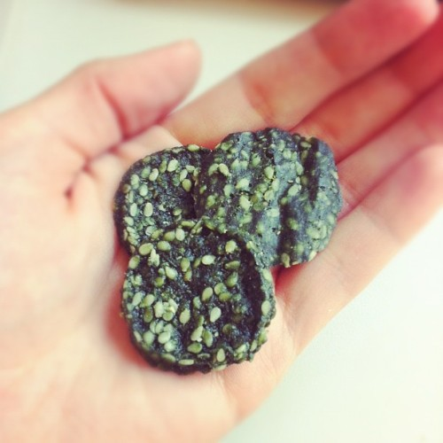 Spirulena super chips. YUM!  (Taken with Instagram)