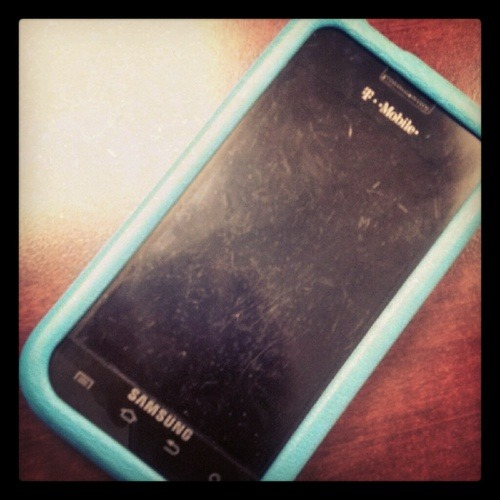 06/27/12 Rest in peace old Samsung Galaxy. Thank you for lasting long enough for the Galaxy S3 to come out. Allison Strunka