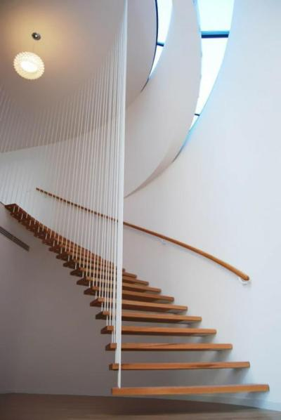 cjwho:  21 Of The Most Interesting Floating Staircase Designs