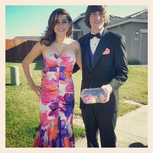 @craigawheeler and I at Senior Ball :) Look how cute we were! #tbt #formal #senior #2012 #prom #throwbackthursday (Taken with Instagram)