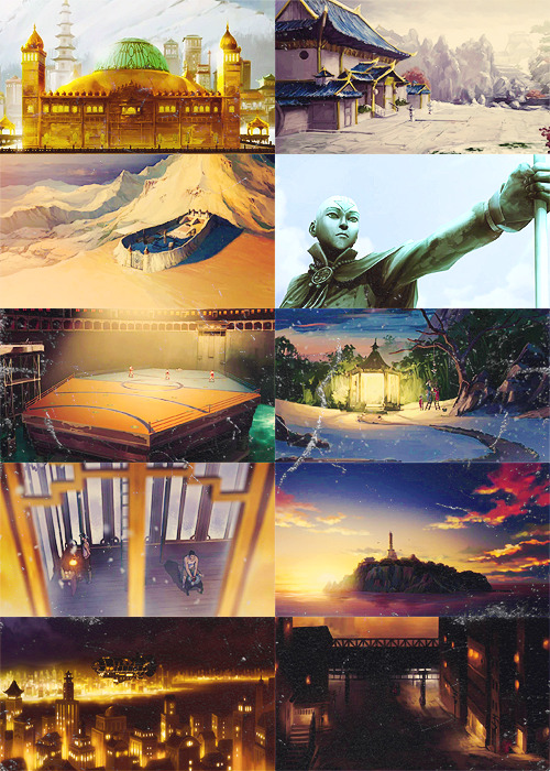The Legend of Korra scenery