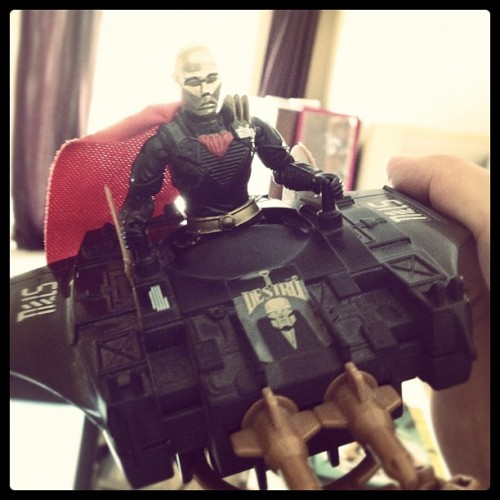 Destro's Despoiler. (Taken with Instagram)