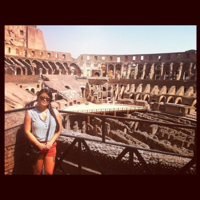 It was beautiful! #rome #italy #colosseo #colosseum #holiday  #vacation #backpacking #europe #photooftheday #picoftheday  (Taken with Instagram at Colosseo)