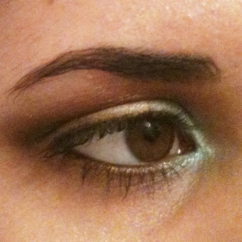 EOTD inspired by @r_rm7348 's thoughtful suggestion! Mint, vanilla and chocolate! #eyesadow #makeup #mint #eye #vanilla #chocolate #bright #cosmetics (Taken with Instagram)