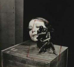 Lydia with mannequins (original crop) by Man Ray, 1932Also