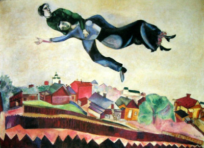 nevver:  Over the town, Marc Chagall