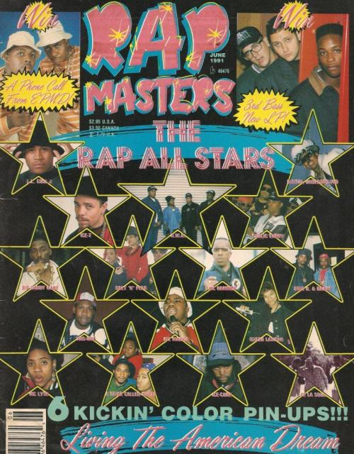 #Rare Rap master Magazine from 1990 with LL Cool J Ice-T N.W.A Big Daddy Kane Krs1 Mc Lyte A tribe called quest Queen Latifah Public enemey Mc hammer Salt n pepa Biz marike ice cube de la soul eric b and rakim EPMD 3rd Bass Digital Underground HIP HOP 1990#CLASSIC http://ajcertified1.tumblr.com