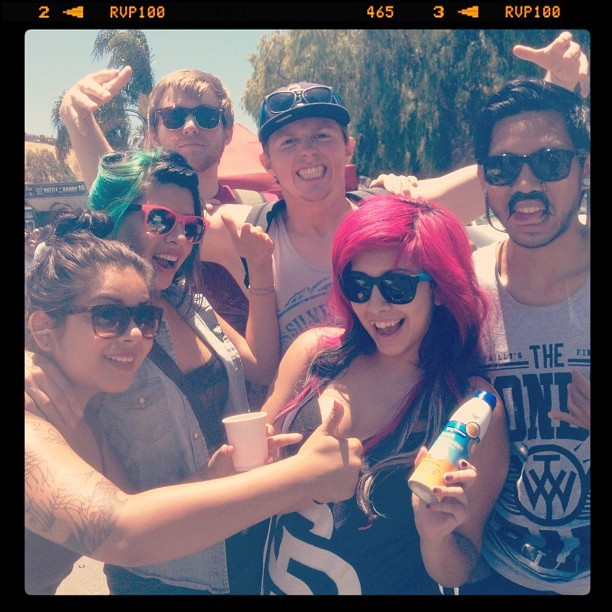 :D #sunblock  (Taken with Instagram at Vans Warped Tour)