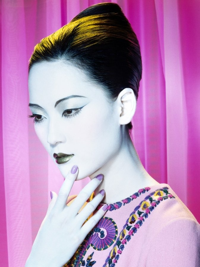 Hye Park Photographed by Miles Aldridge for Vogue China 2006