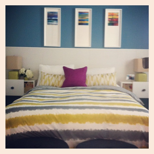 Loving this bedroom designed by Natalie Younger (Taken with Instagram)
