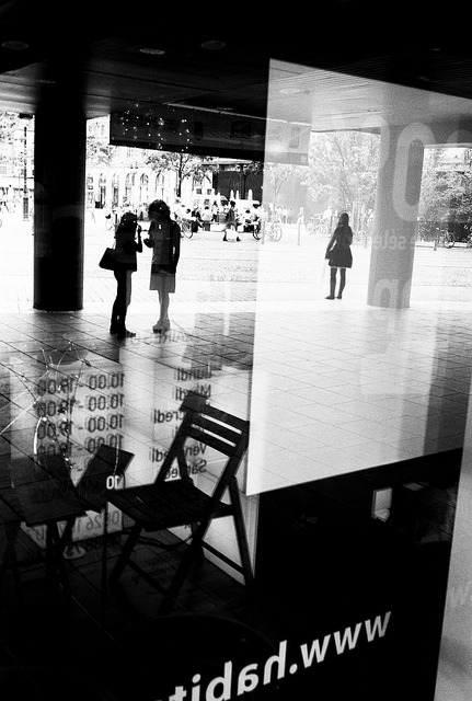 Waiting for someone on Flickr. Strasbourg, june 2012.