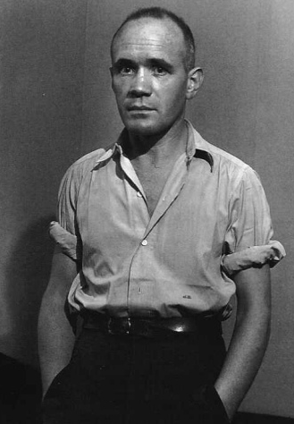 "Brassaï     Jean Genet, Paris      1947   ""I could not take lightly the idea that people made love without me.""  Jean Genet, ""The Thief's Journal""  1949"