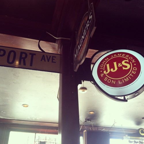 #jameson #magners #newport #RI #irishpub (Taken with Instagram at The Fastnet Pub)