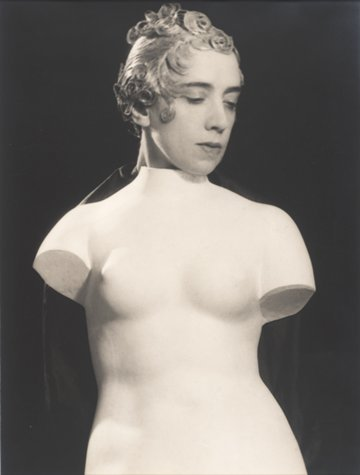 saloandseverine:  Man Ray, Untitled (Elsa Schiaparelli), ca. 1933