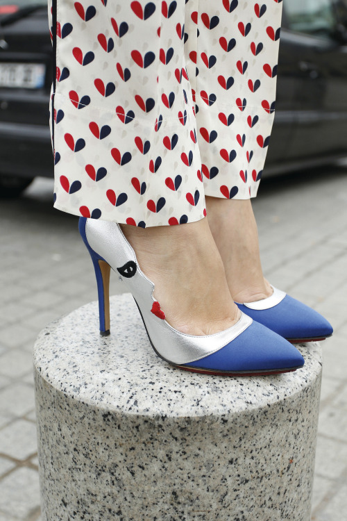 We're over the moon about these Charlotte Olympia pumps.