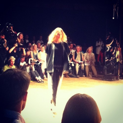 LCF graduate show (Taken with Instagram at Hackney House)