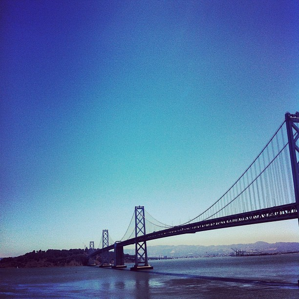 Lunch view.  (Taken with Instagram at Google San Francisco)