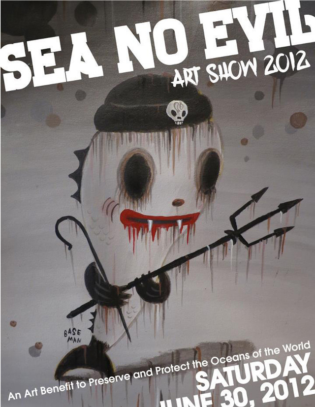 Sea No Evil, Art Benefit to Preserve & Protect the World's Oceans
