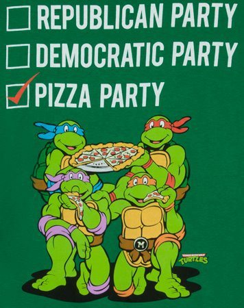 theclearlydope:  I'm happy to accept the Pizza Party Presidential nomination. I think America is finally ready for a Pizza Party President.  I am voting straight Pizza Party in November. Obviously.