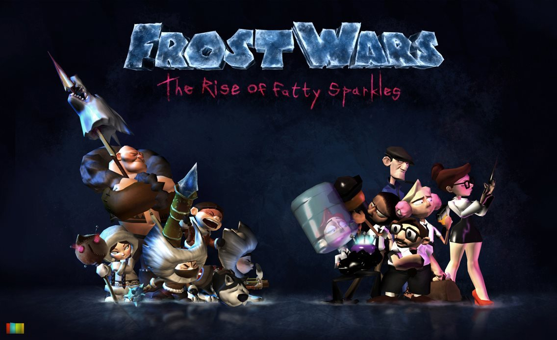 Meet the Frost Wars infantry! One of our first finished images as we gear up for PAX.