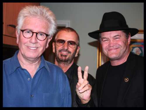 Graham Nash, Ringo Starr, and Micky Dolenz, 2007