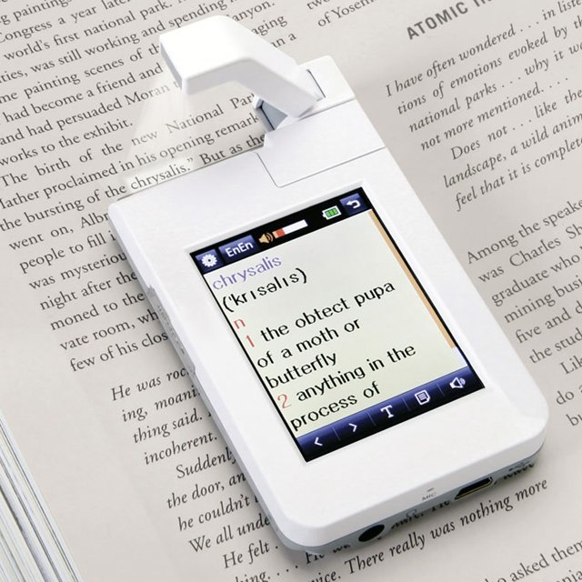 Point and Click Dictionary Scanner(via Fancy)