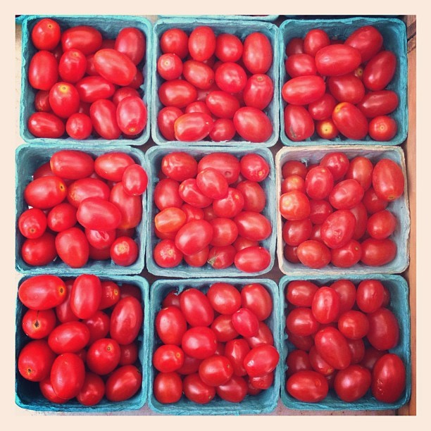 Cherry #tomatoes for #redthursday (Taken with Instagram)