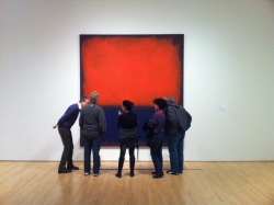 Rothko, Rothko, be still our beating hearts :) Come hear about Rothko's No. 14 from our painting conservator, Paula De Cristofaro, tonight at 6:30pm! Image: SFMOMA (by Vincent Battaglia)