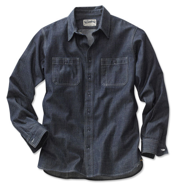 The Stronghold Chambray Work Shirt Damn son.  If you were to drop $250 on a chambray shirt you could definitely do worse.
