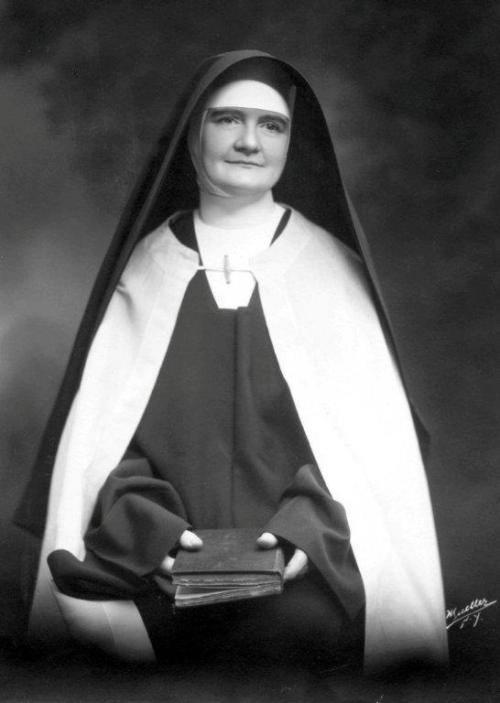 Mother Angeline Teresa McCrory, O.Carm, Foundress of Carmelite Sisters for the Aged and Infirm (my Community) , was declared Venerable today!