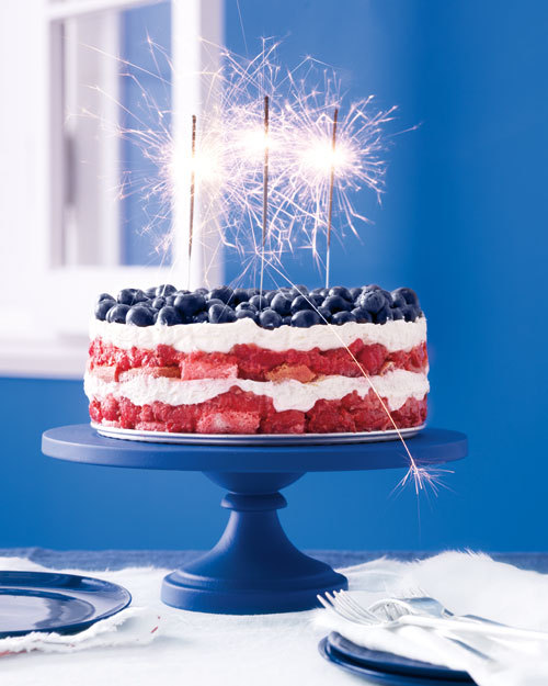 thecakebar:   Red, White, and Blue Berry Trifle