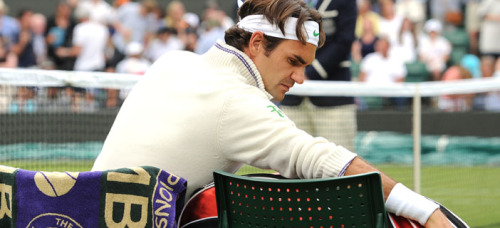 Roger Federer is peRFect in anything! Isn't he the prince in white? ♥ ♥ ♥  from rf.com