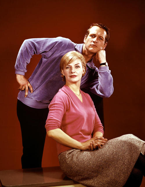 "di-diana:   Paul Newman and Joanne Woodward   Paul Newman, married to Joanne Woodward for more than 50 years, described the formula for marital success as ""correct amounts of lust and respect."""