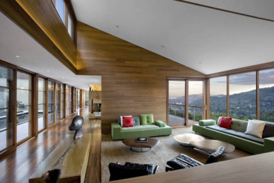 Residential Viewing Platform Overlooking San Francisco Bay