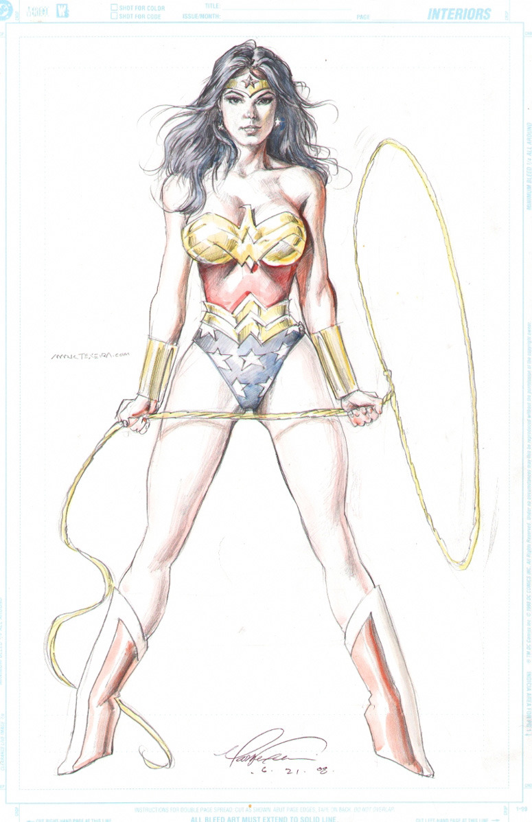 epicwomen:  Wonder Woman by Mark Texeira.