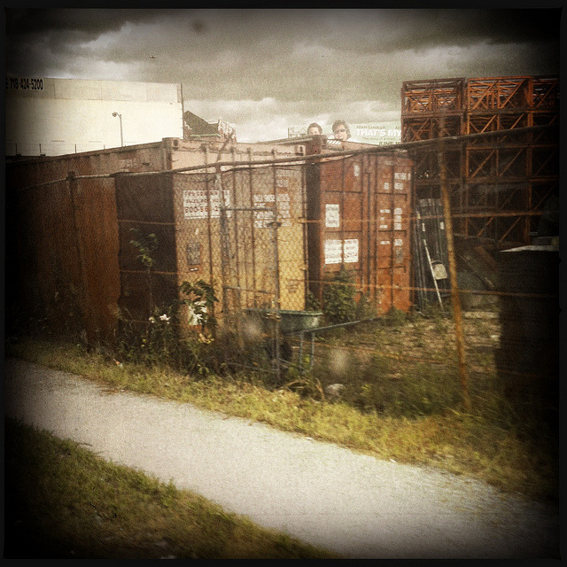 industrial wasteland. along the q67 route. maspeth. on Flickr.Another image from my ongoing bus route series. The other day, I hopped on the Q67, which runs from LIC to Middle Village. Along the way, you pass old factories, and the industrial underbelly of Maspeth, as pictured here.