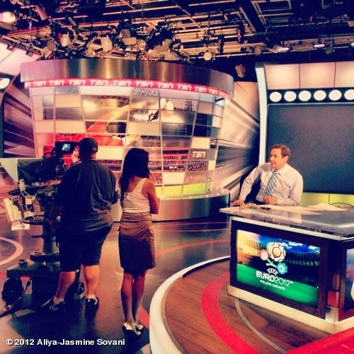 TSN Studio talk with Luke Wileman on Euro 2012 predictions for this Germany/Italy game!