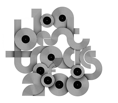 Words Are Pictures by Craig Ward 100 Best tracks of 2008 cover typograpy